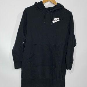 Nike long hoodie sweatshirt